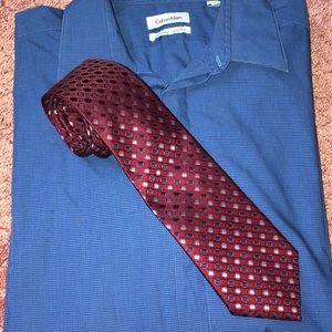 Maroon Red Neck Tie! 👔